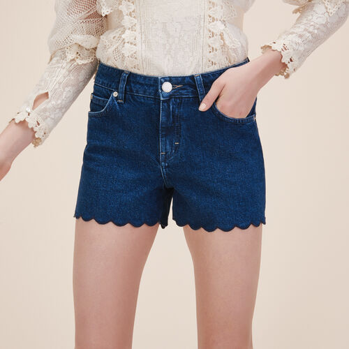 Short de denim - Faldas y shorts - MAJE