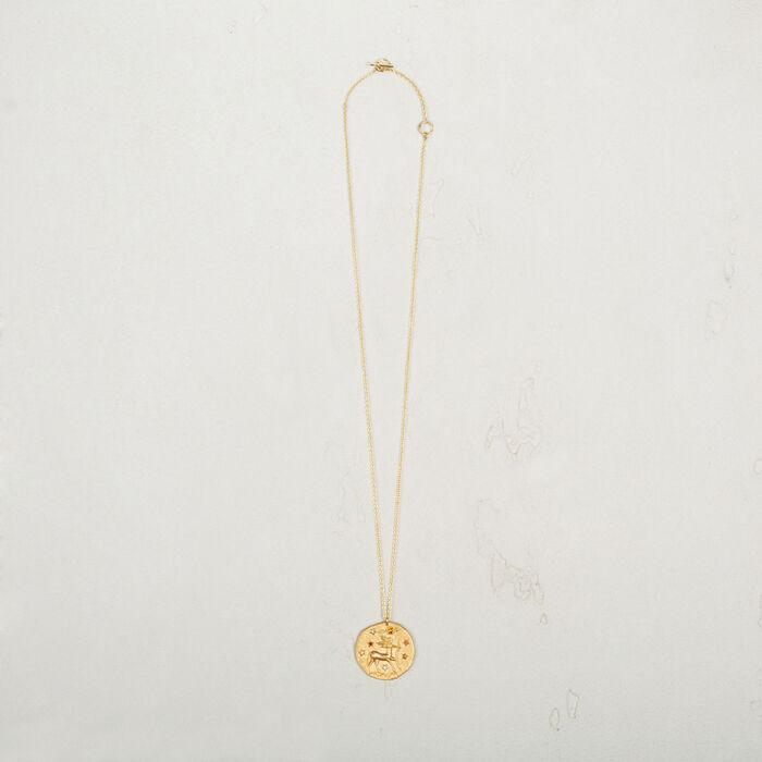 Sagittarius zodiac sign necklace -  - MAJE