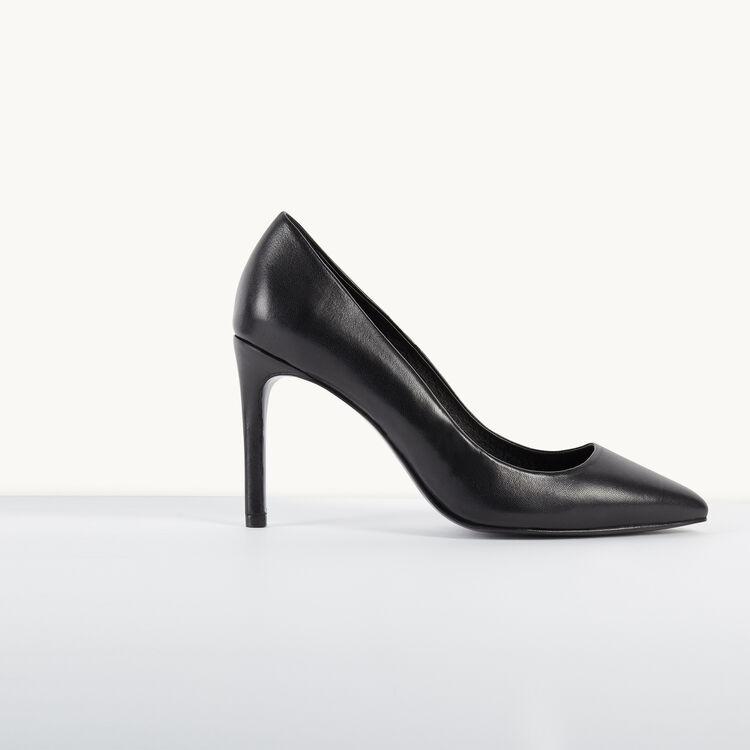 Escarpins en cuir - Chaussures - MAJE