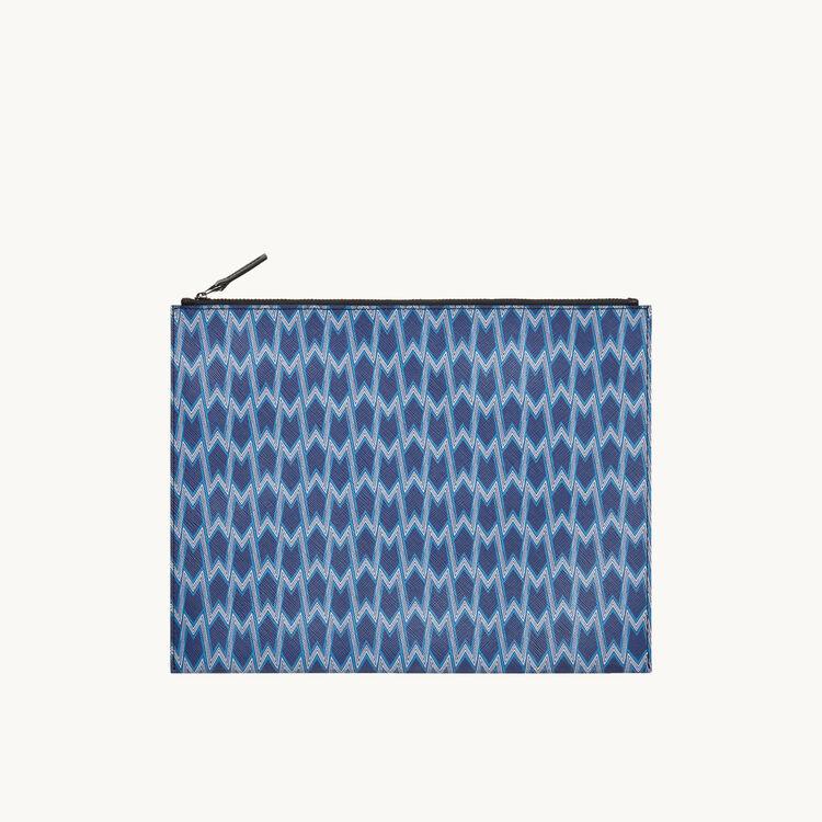 Pochette pour iPad en toile imprimée - Sacs & Maroquinerie - MAJE