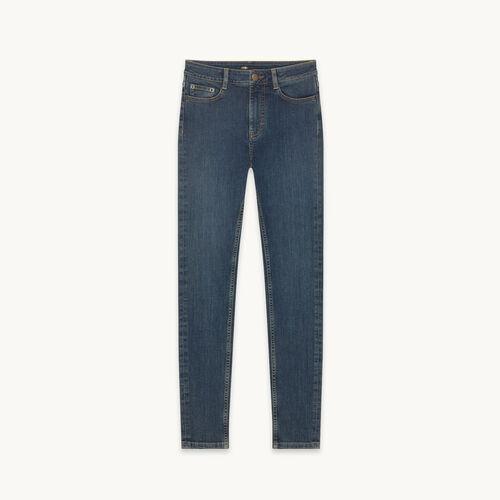 Jean slim 5 poches - Pantalons - MAJE