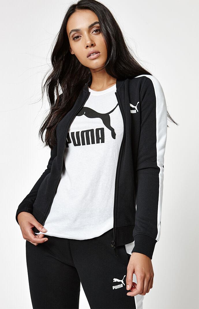 Puma Archive Logo T7 Track Jacket - Black 6181663