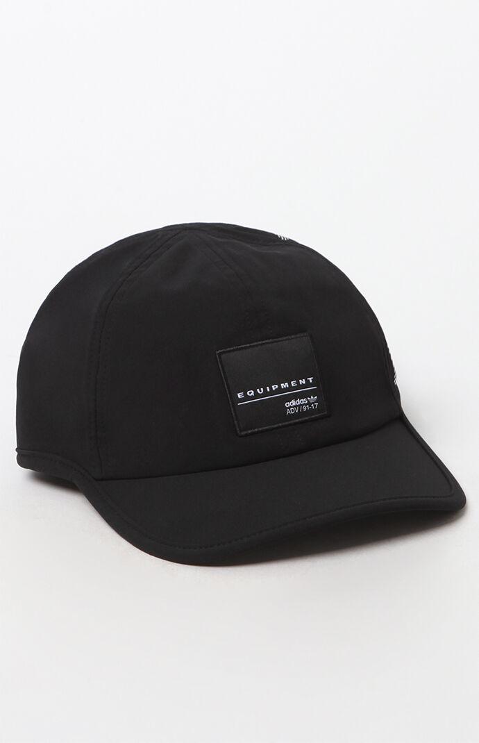 adidas EQT Trainer Strapback Hat - Black/white 6631352