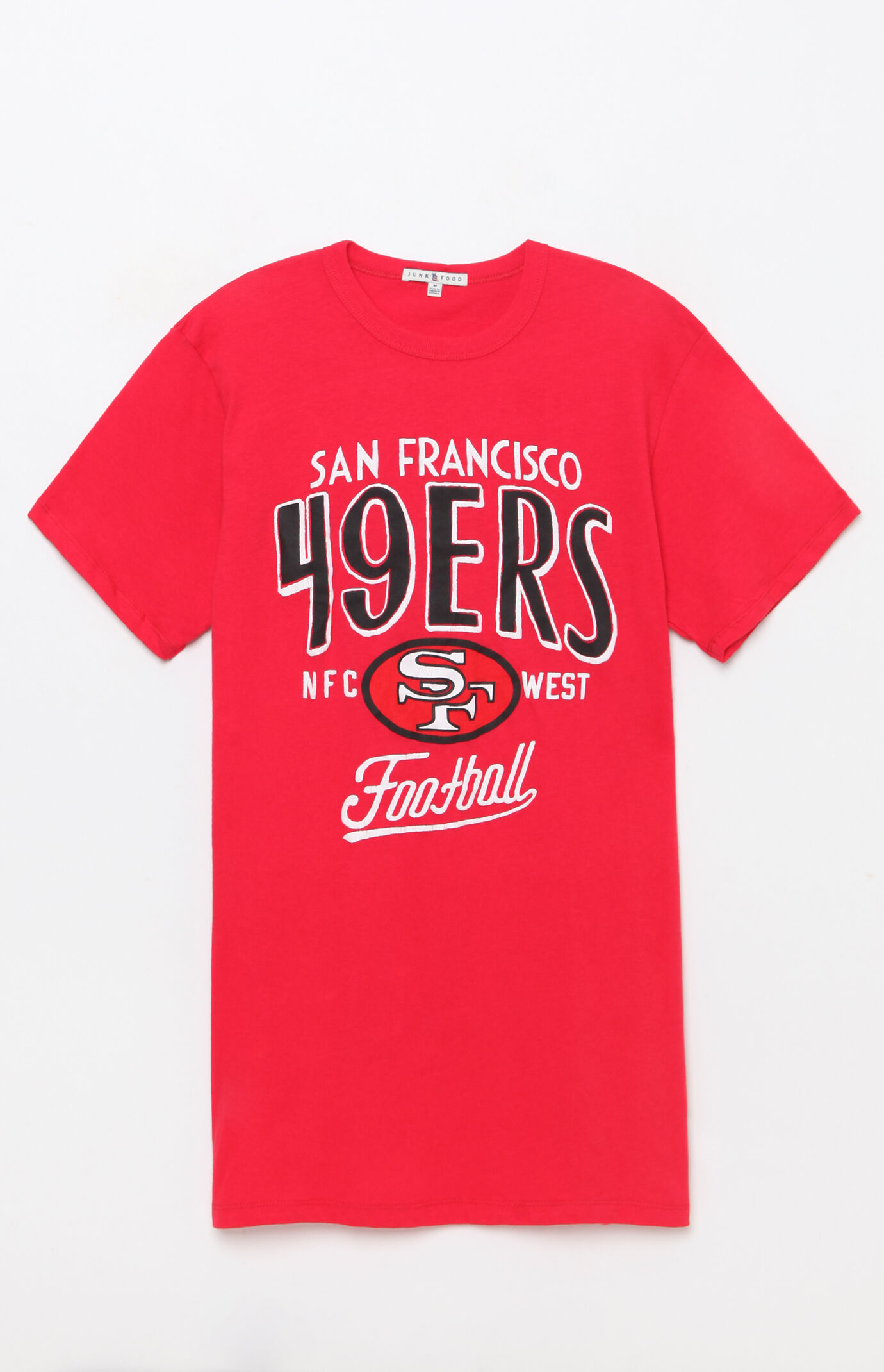 Junk Food San Francisco 49ers T-Shirt - RED 6814313
