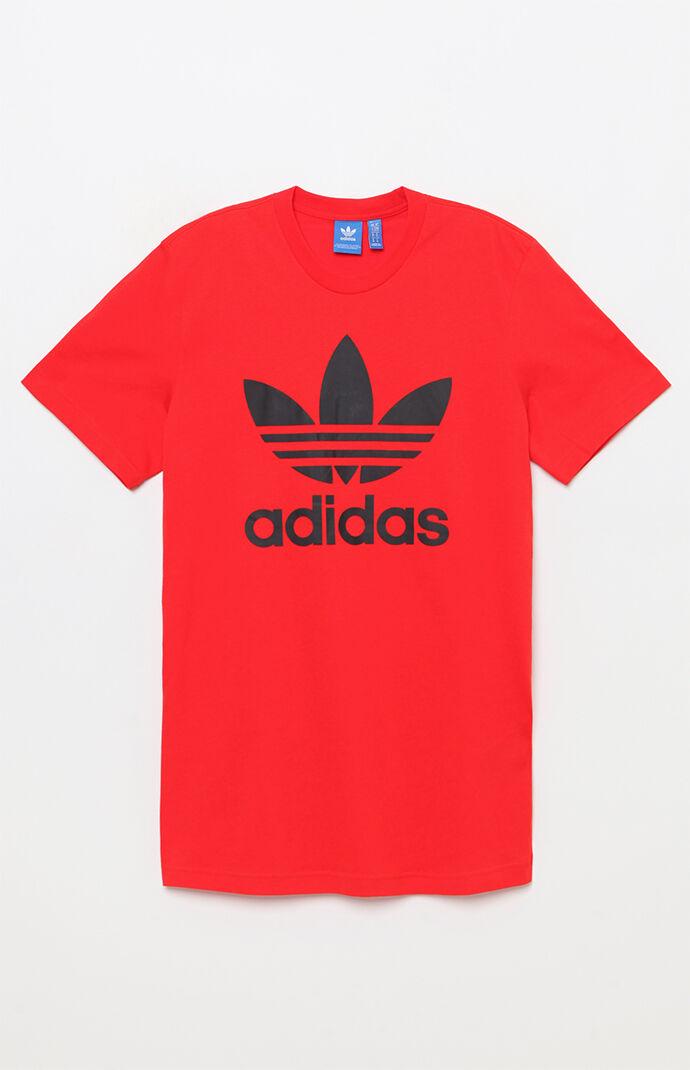 adidas Trefoil Red & Black T-Shirt 6040257