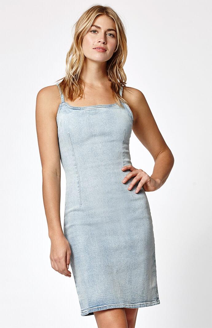 Calvin Klein Denim Dress - Indigo Blue 6605646