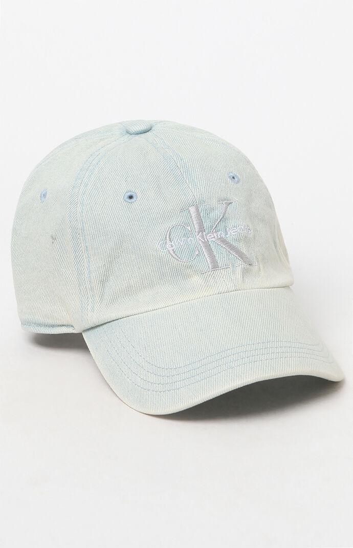 Calvin Klein Indigo Denim Dad Hat - Indigo Blue 6815070