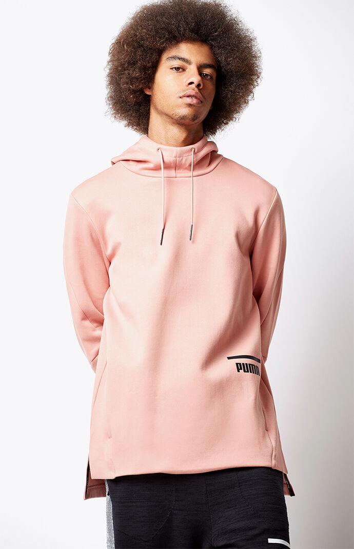 Puma Evo Core Pullover Hoodie - Pink 6516934