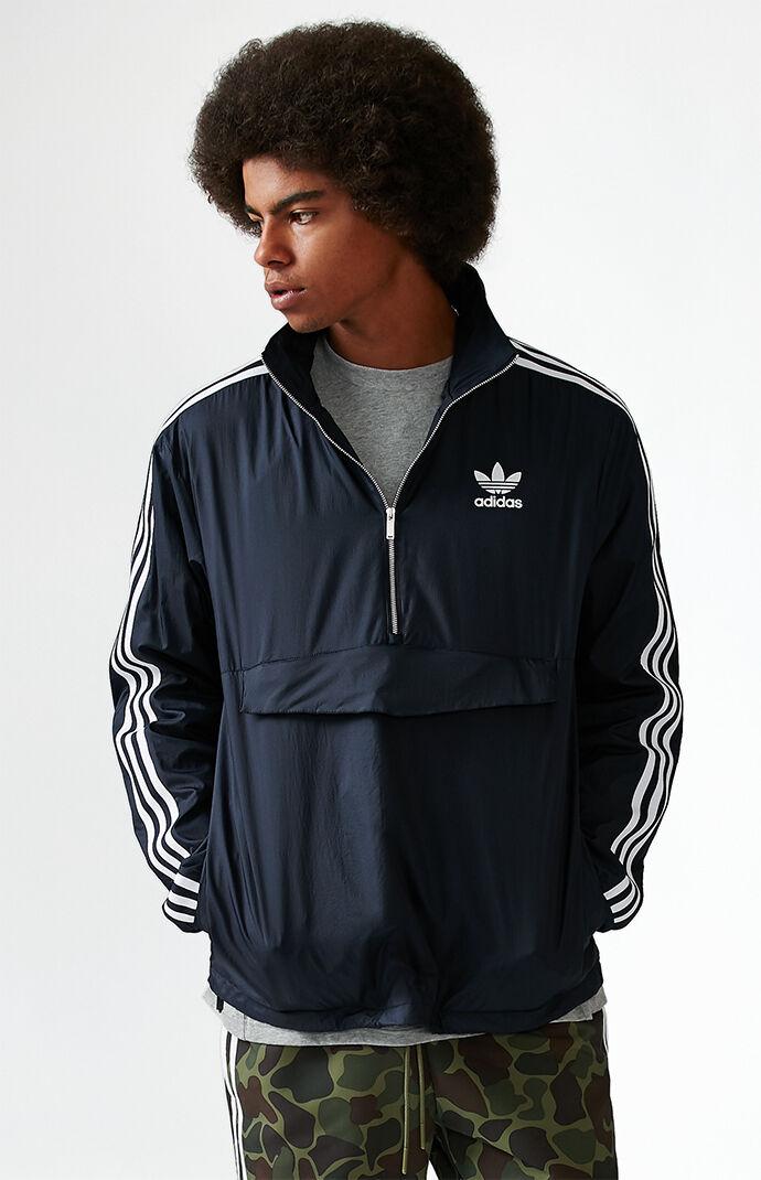adidas Modern Windbreaker Jacket - Dark Blue 6259782