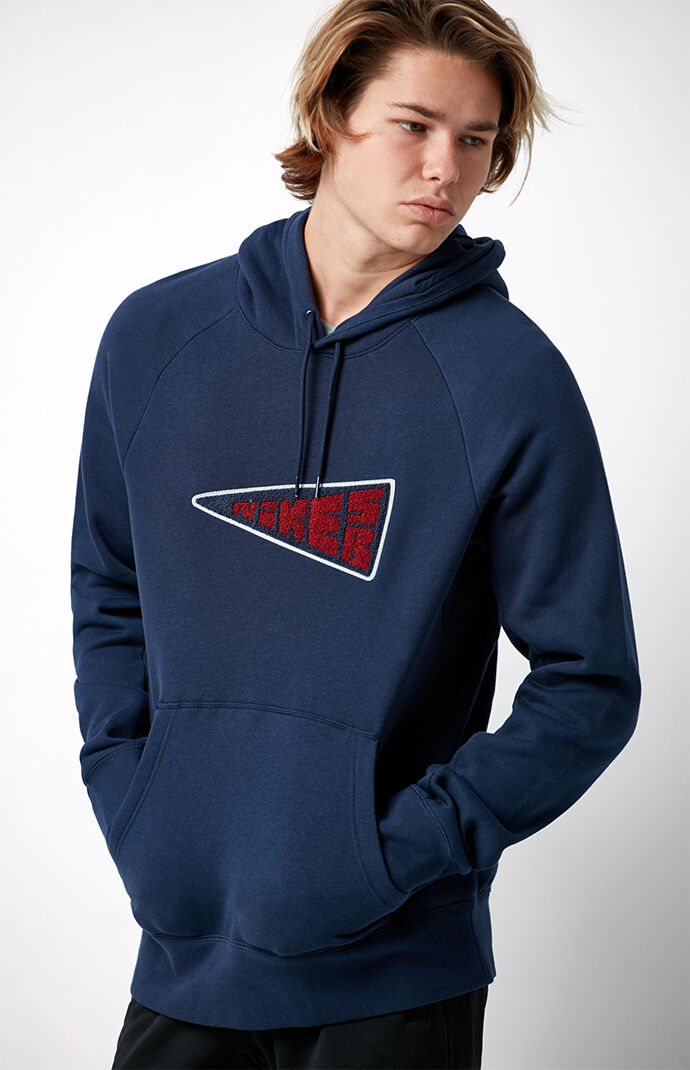 Nike SB Icon Pullover Hoodie - Navy 6554356