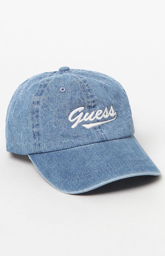 Denim Guess Cap - Indigo Blue 6807465