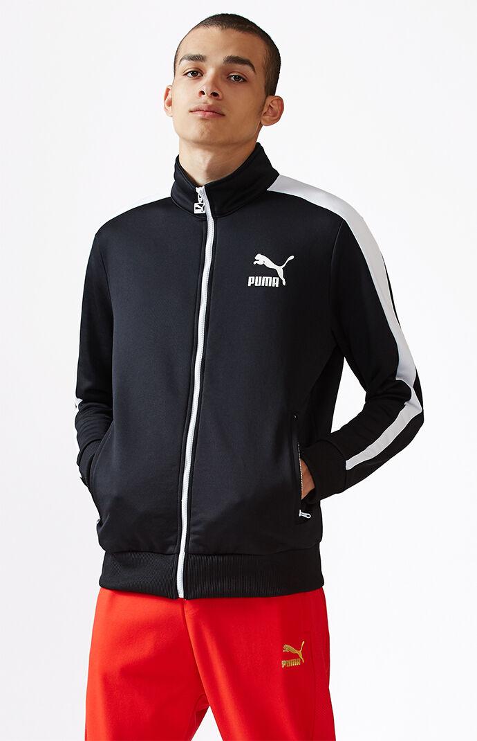 Puma Archive T7 White & Black Track Jacket - White/black 6338016