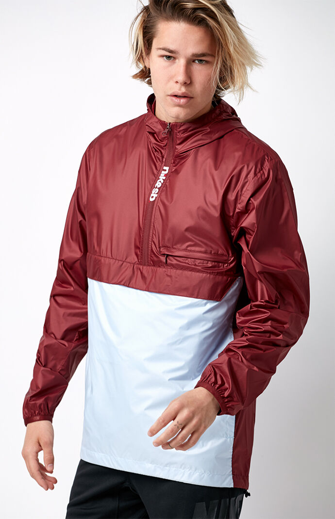 Nike SB Packable Anorak Jacket - Red/blue 6555247