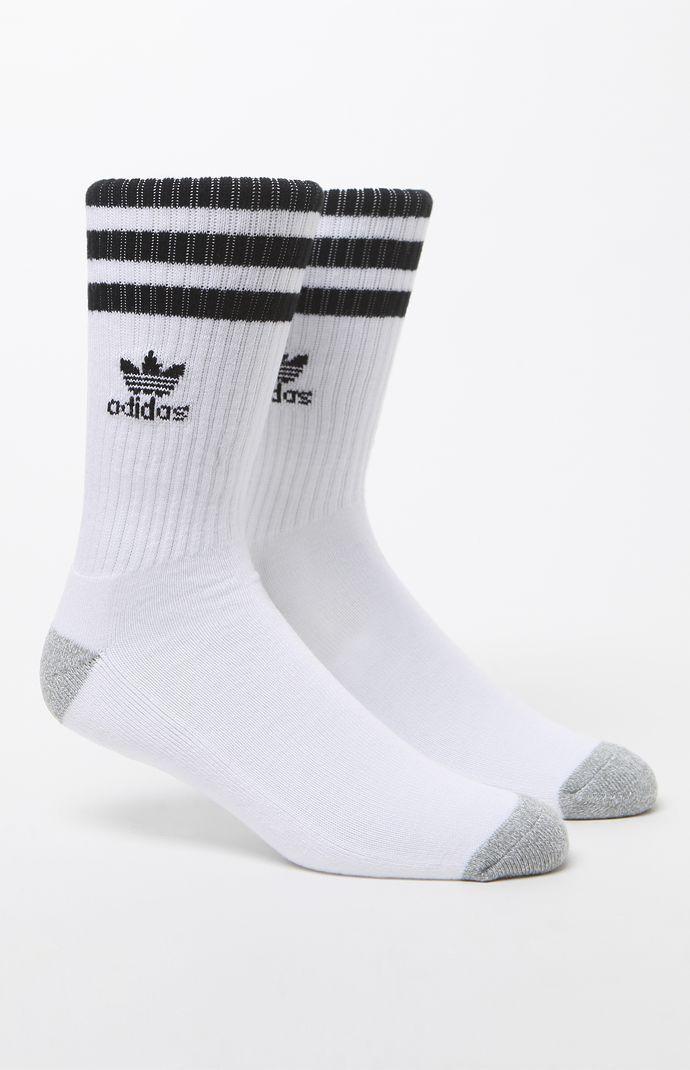 adidas Roller Crew Socks - White/black 5523303