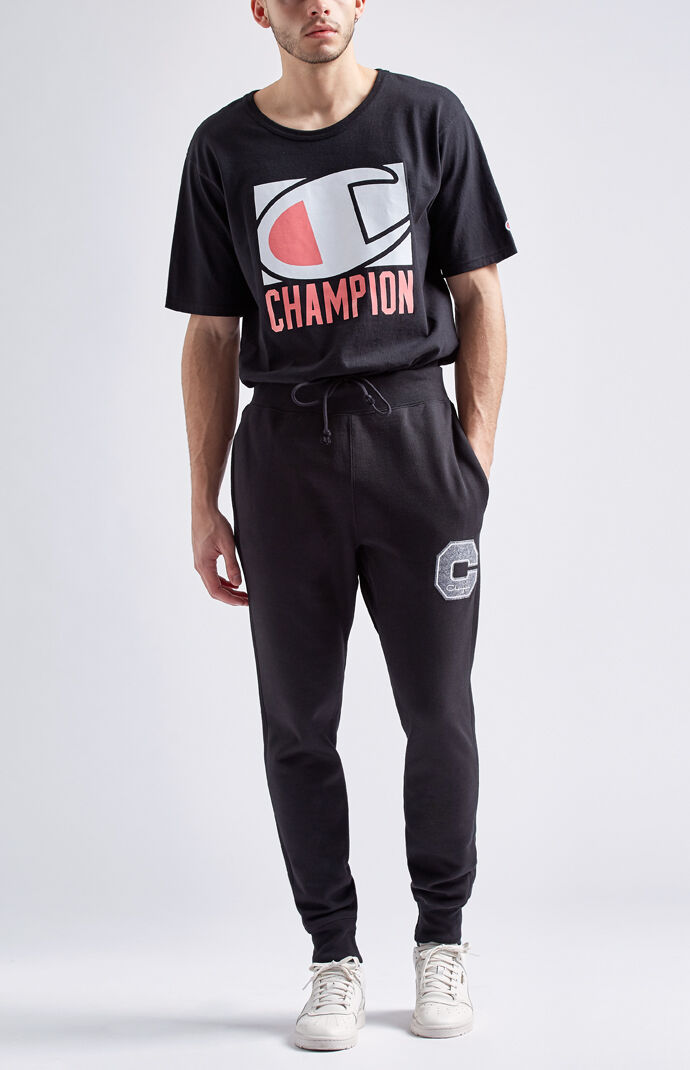 Champion Reverse Weave Jogger Pants - Black 6637177