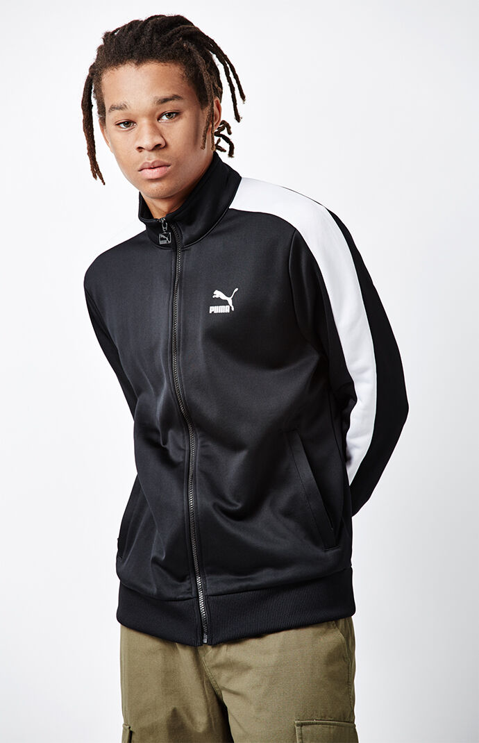 Puma Archive T7 Black Track Jacket 6515456