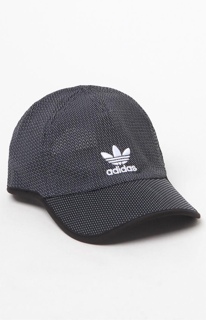adidas Relaxed Primeknit Black Strapback Hat 5981865