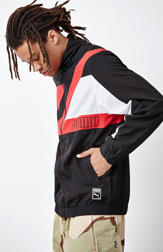 Puma Record Track Jacket - Black 6515415