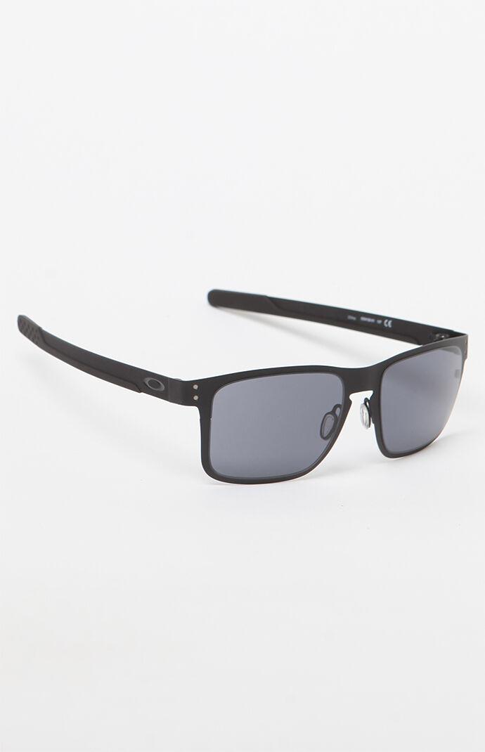 Oakley Holbrook Matte Black Metal Sunglasses - Matte BLK 6780332