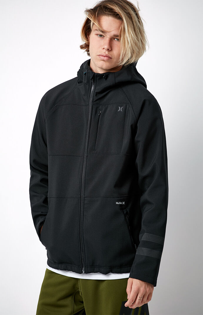 Hurley Therma Protect Max Zip Hoodie - Black 6677595