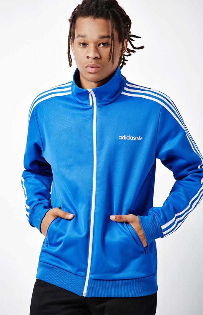 adidas Beckenbauer Blue Track Jacket 6461180
