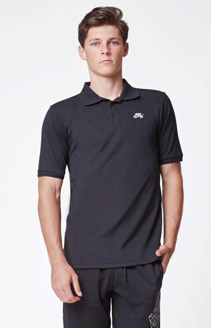 Nike SB Pique Polo Shirt - White/black 4829321