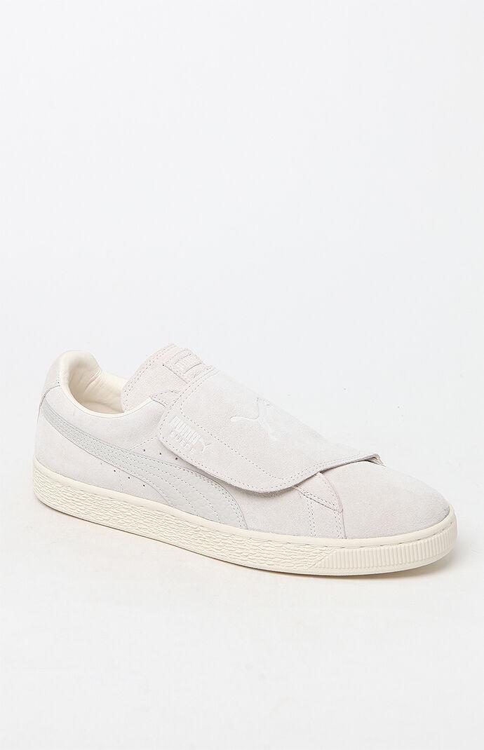 Puma Suede Wrap Colorblocked White Shoes - White/white 6509772