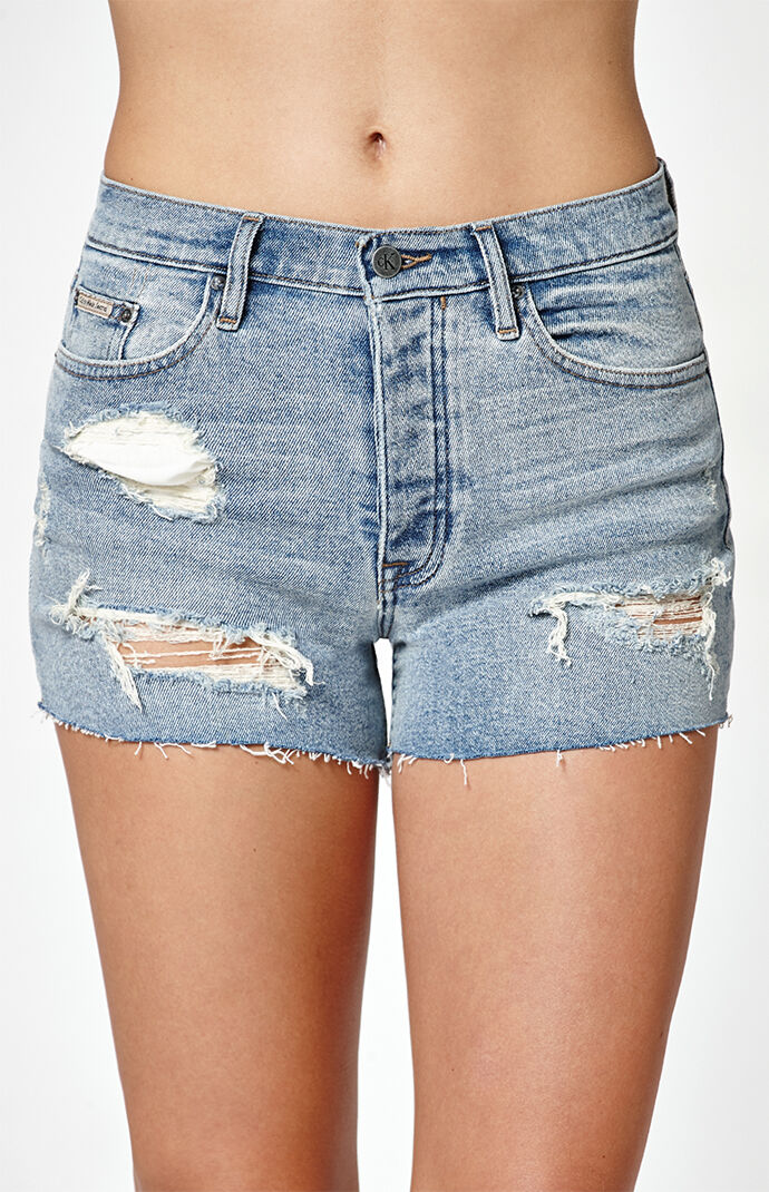 Calvin Klein Indigo Denim Shorts - Indigo Blue 6605851