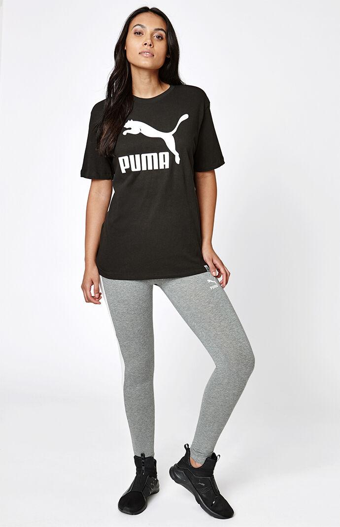 Puma Archive Logo T7 Leggings - Heather Grey 6513758