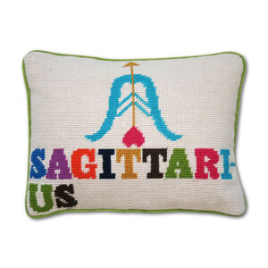 Cushions & Throws - Sagittarius Zodiac Needlepoint Cushion