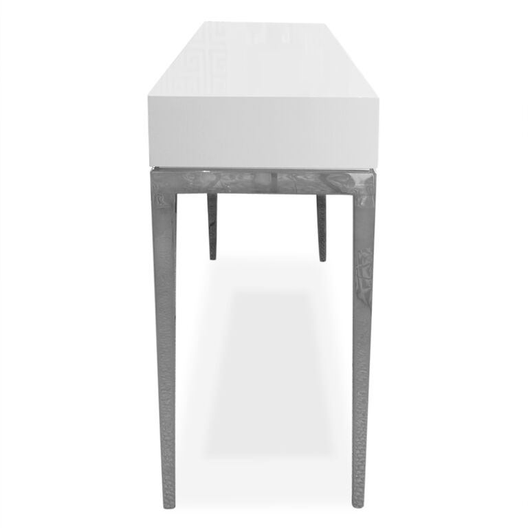 Cocktail, Side & Console Tables - Channing 3-Drawer Console