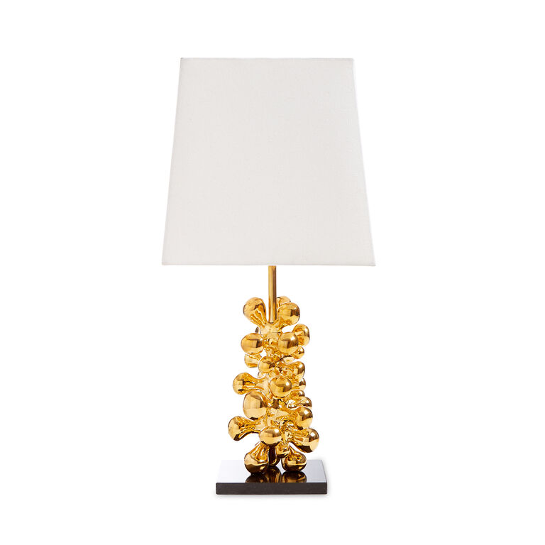 Table Lamps - Brass Orb Table Lamp