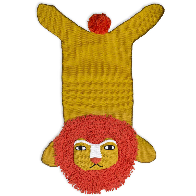 Rugs - Junior Crocheted Lion Rug