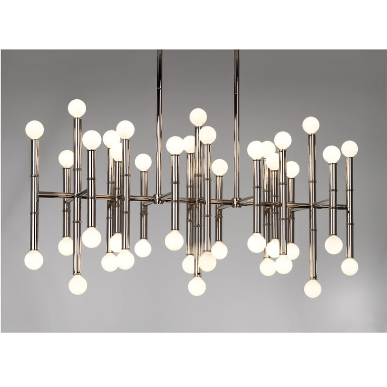Ceiling Lamps - Meurice Rectangle Chandelier