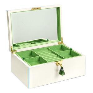 Storage & Organizing - Large Lacquer Jewelry Box
