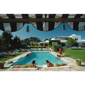 """Art - Slim Aarons """"Poolside in Sotogrande"""" Photograph"""