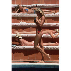 "Art - Slim Aarons ""Catherine Wilke"" Photograph"