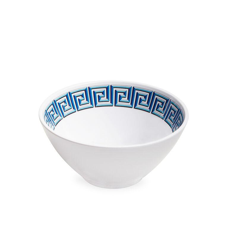 Dinnerware - Blue Mykonos Melamine Bowl