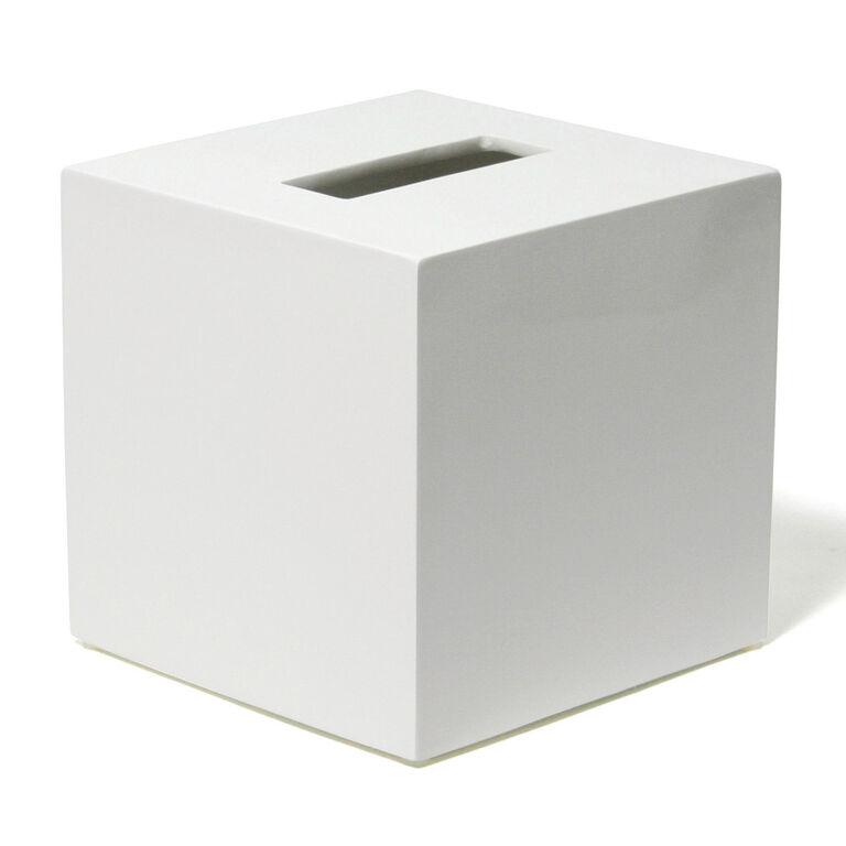 Bath Accessories - Lacquer Tissue Box