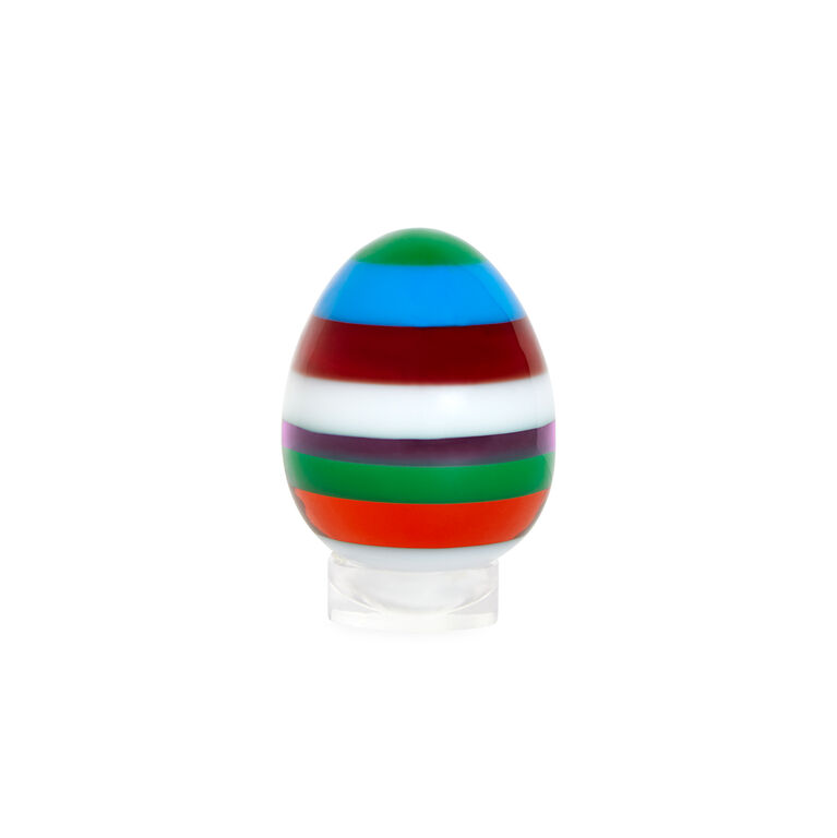 Decorative Objects - Small Stacked Acrylic Egg