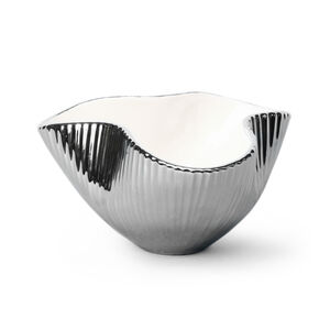 Bowls & Trays - Small Metallic Pinch Bowl