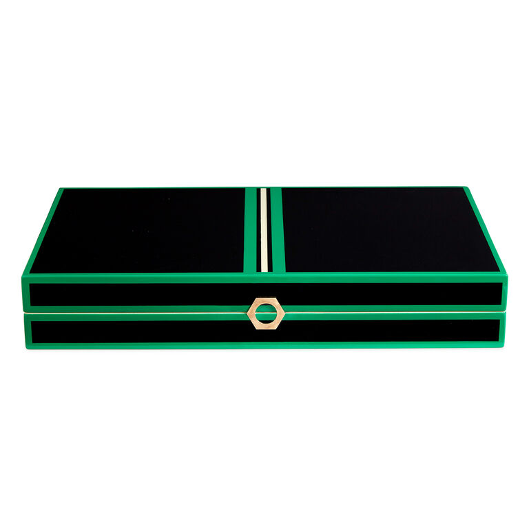 Holding Category - Lacquer Backgammon Set