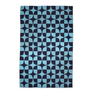 Indian Kilim Flatweave - Blue Josef Kilim Flat Weave Rug