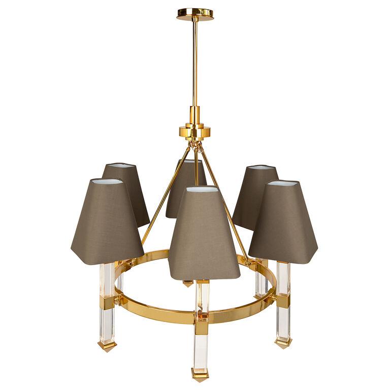 Ceiling Lamps - Jacques 6-Arm Chandelier