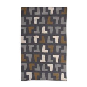 Indian Kilim Flatweave - Grey Arthur Kilim Flat Weave Rug