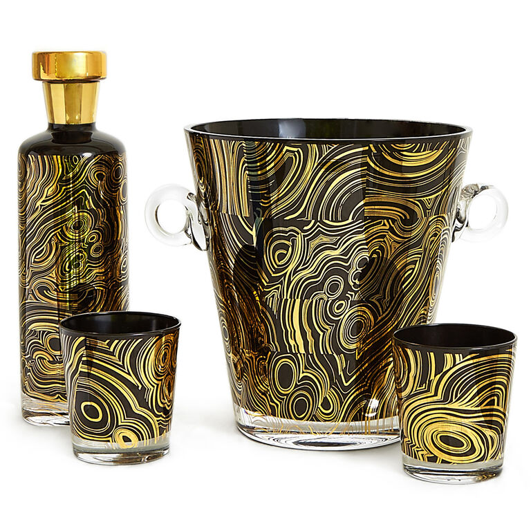 Pitchers & Decanters - Malachite Decanter