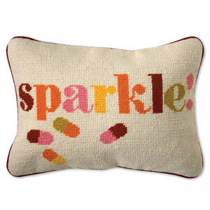 Cushions & Throws - Sparkle Needlepoint Cushion