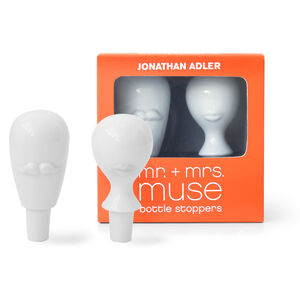 Barware - Mr. & Mrs. Muse Bottle Stopper Set