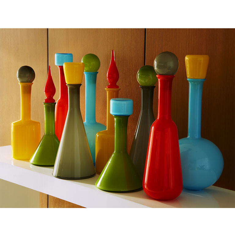 Holding Category - Green Pop Decanter