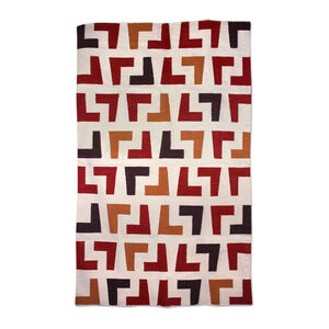 Indian Kilim Flatweave - Red Arthur Kilim Flat Weave Rug